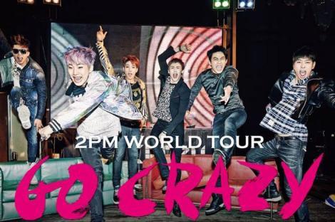 2PM- Go Crazy world tour